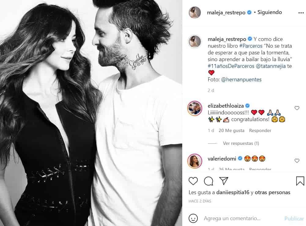 Tatán Mejía y Maleja llevan un sólido matrimonio.