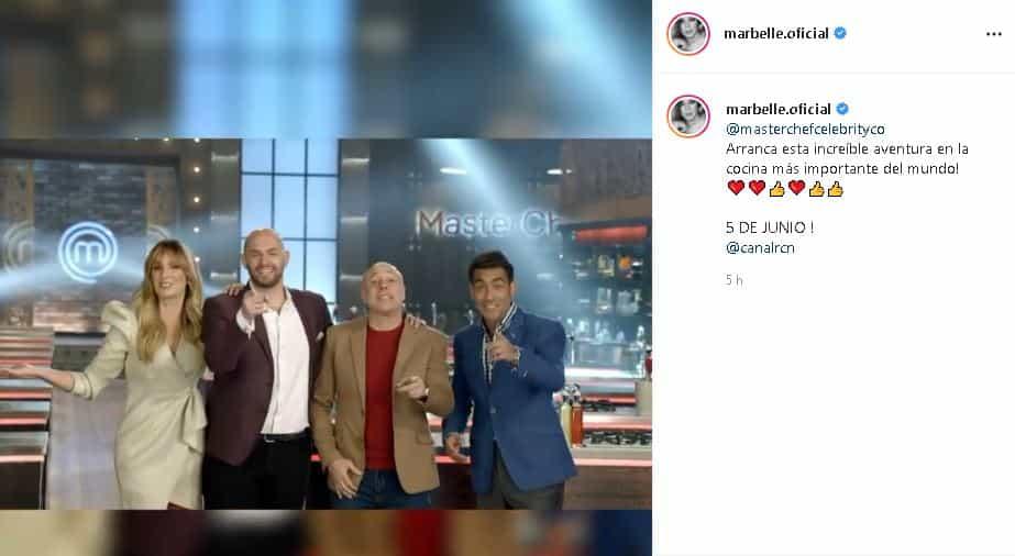 Marbelle en MasterChef Celebrity