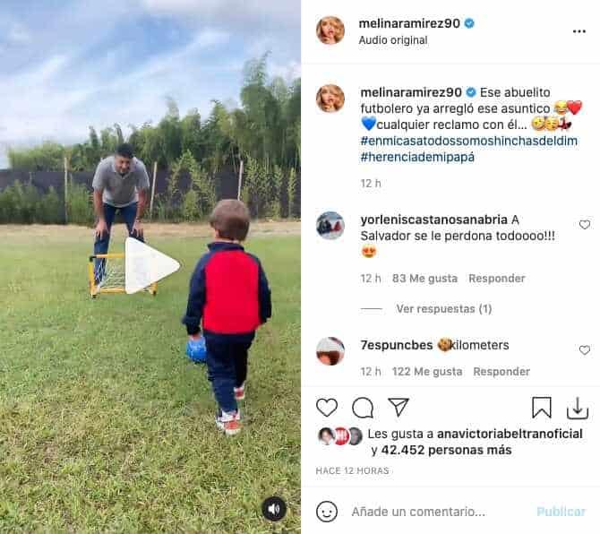 Hijo de Mateo Carvajal reveló en tierno video de qué equipo es hincha
