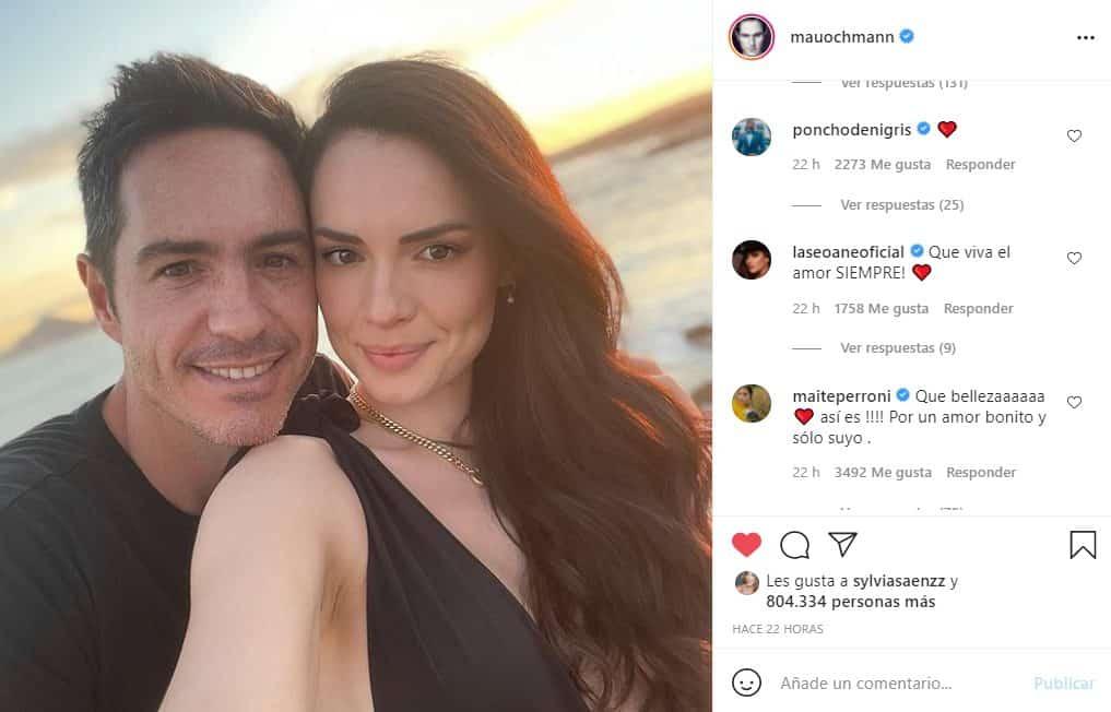 mauricio ochmann con su nueva novia