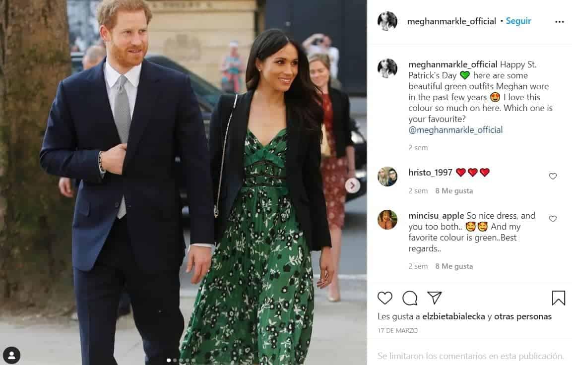 Meghan Markle y Harry tomaron distancia de la Casa Real Británica tras su renuncia en el 2020