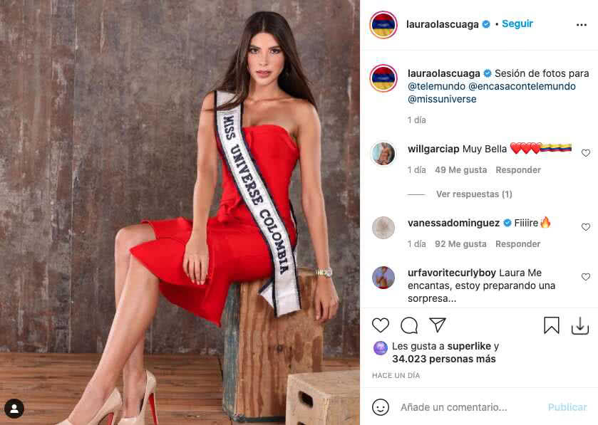 Miss Colombia 2021