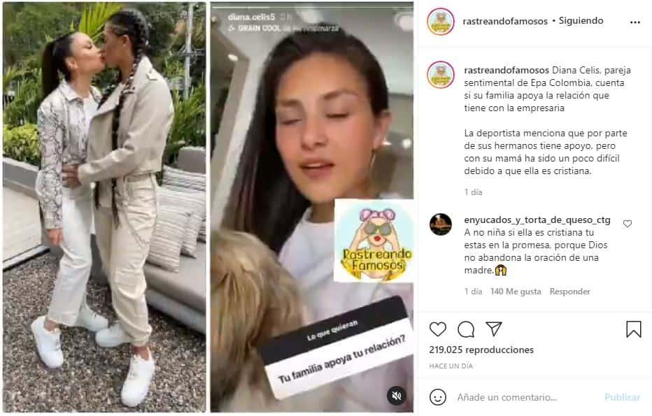 Novia de Epa Colombia confiesa si su familia apoya su relación