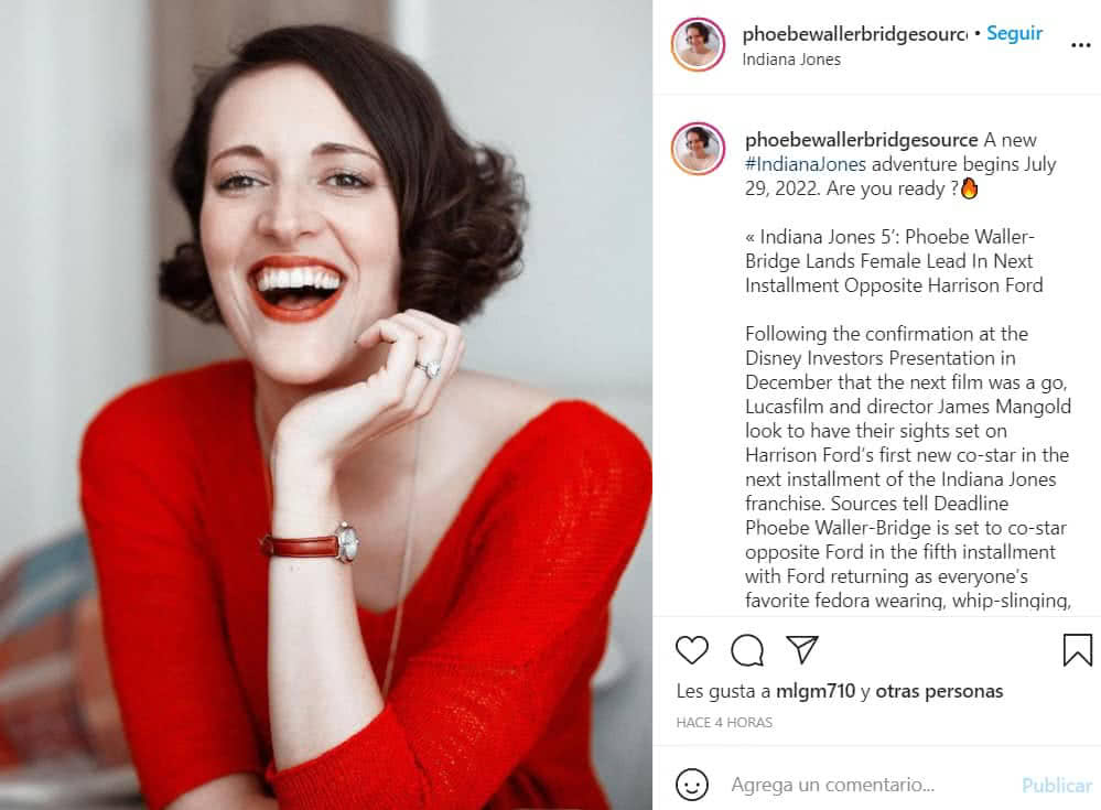 Phoebe Waller-Bridge, creadora de la serie Fleabag