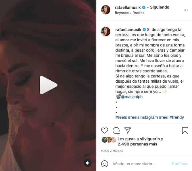 Rafaella, hija de Marbelle, compartió provocador video en paños menores