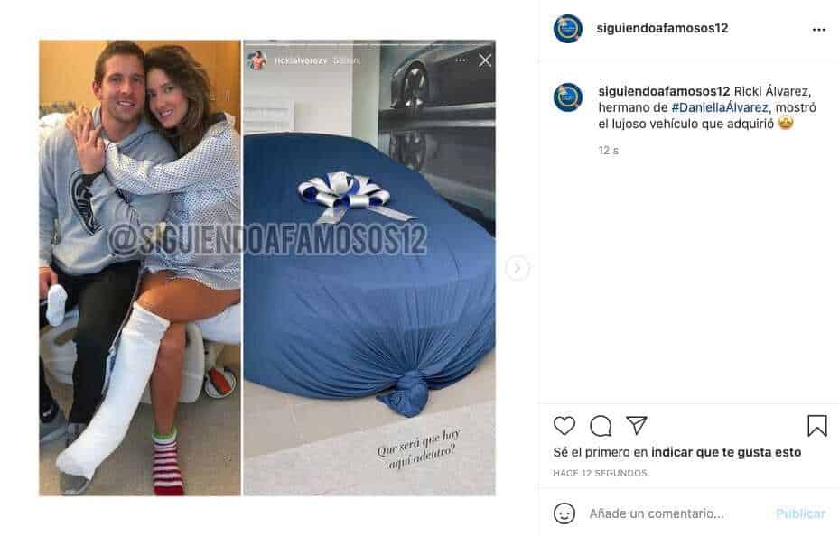 Hermano de Daniella Álvarez presumió su nuevo y lujoso vehículo