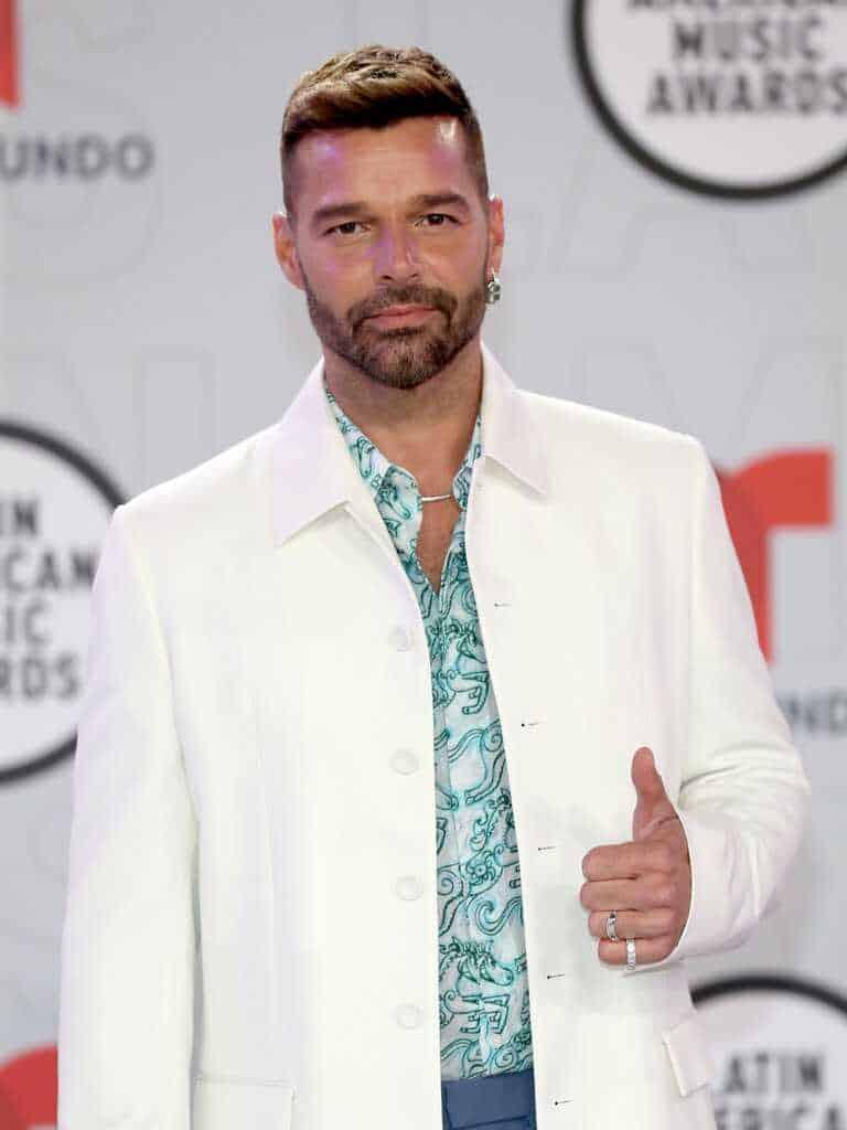 Ricky Martin en los Latin AMAS 2021