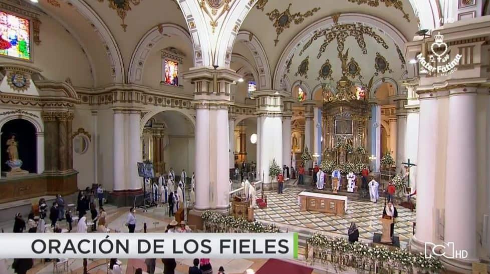 Mira aquí la transmisión del Tercer Rosario Mundial Mater Fátima