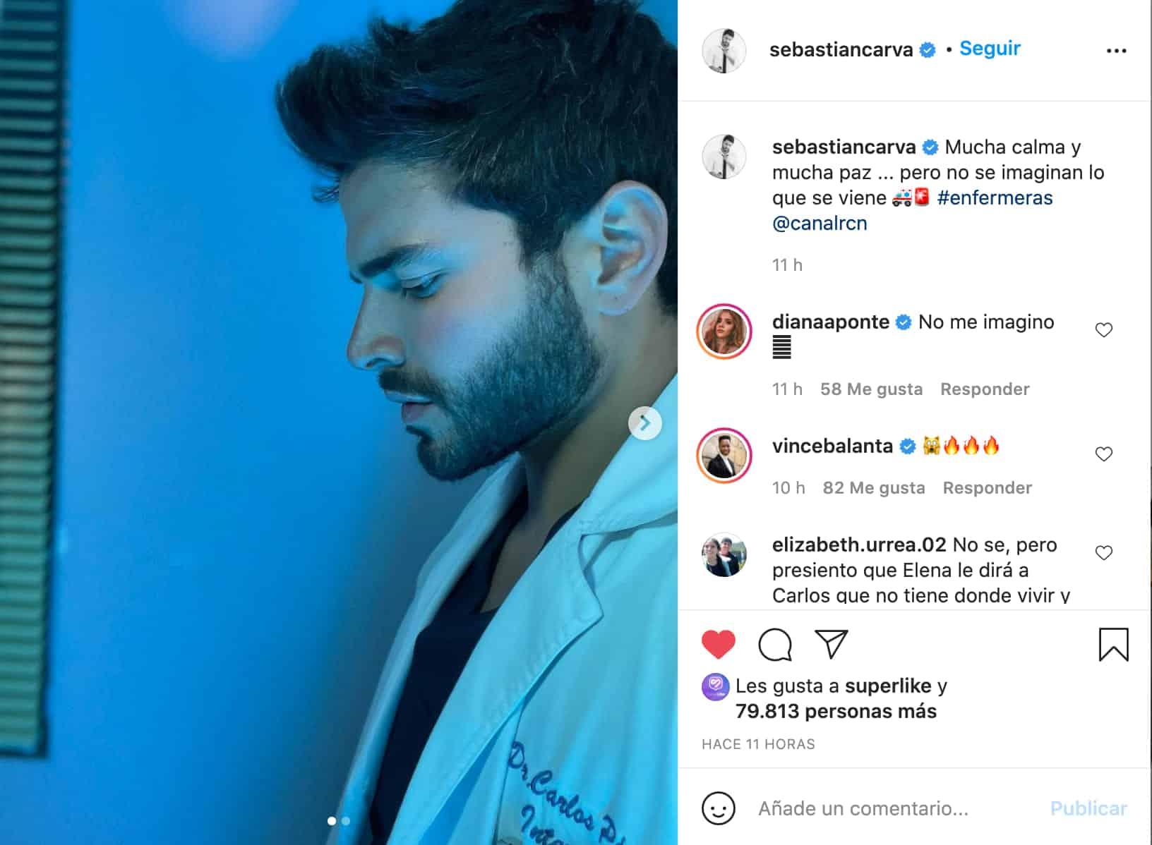 El enigmático mensaje de Diana Hoyos y Sebastián Carvajal en Instagram