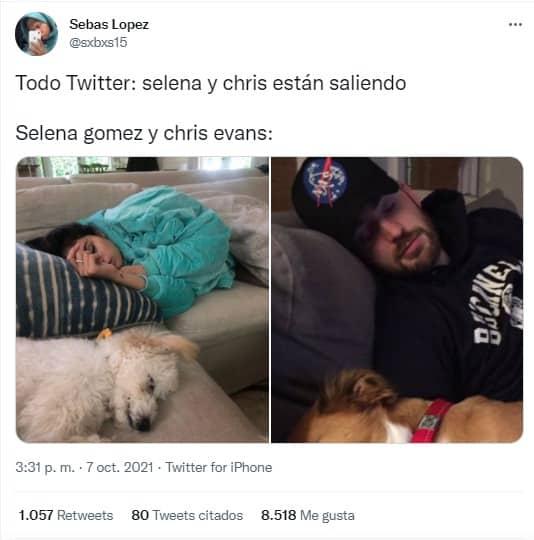 Chris Evans y Selena Gomez: los memes por su supuesta relación