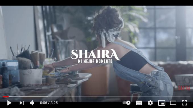 Shaira y su mejor momento