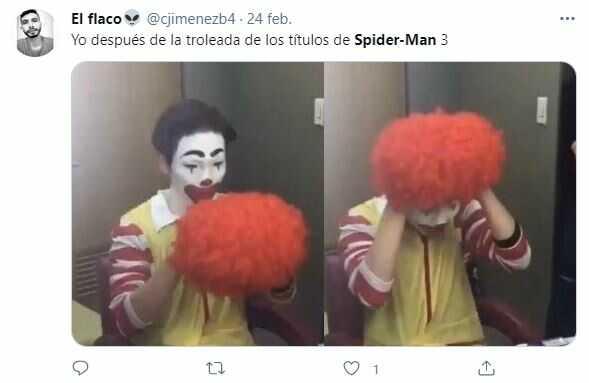 Memes sobre el nuevo nombre de Spider-Man 3