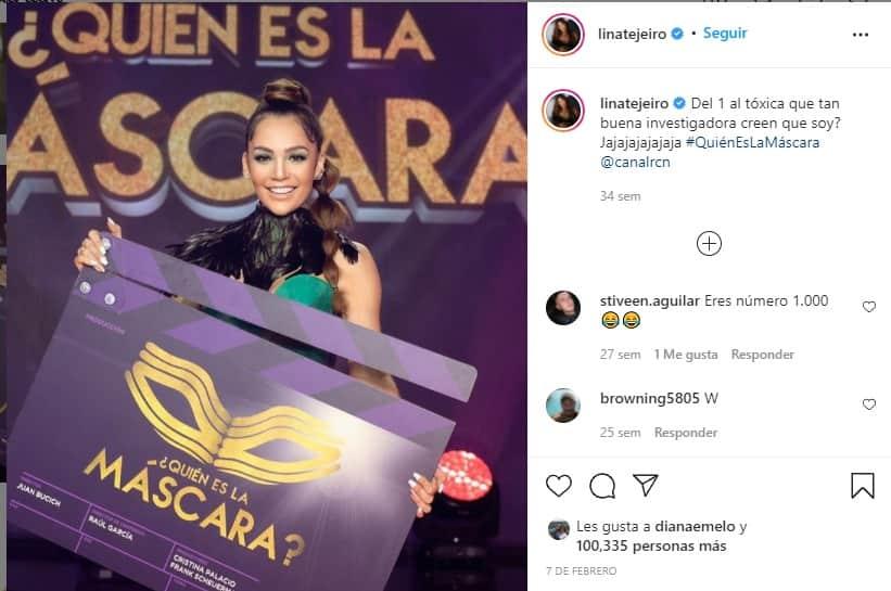 Lina Tejeiro: sus confesiones más virales