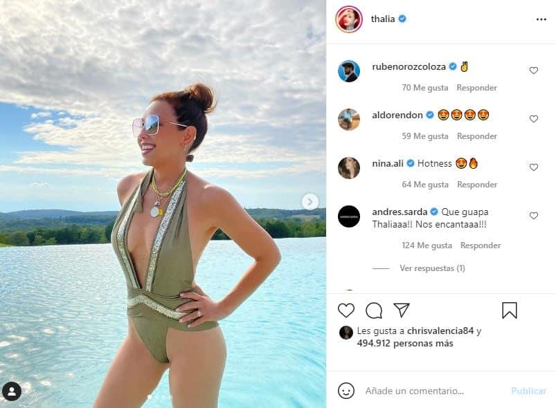 thalia en bikini