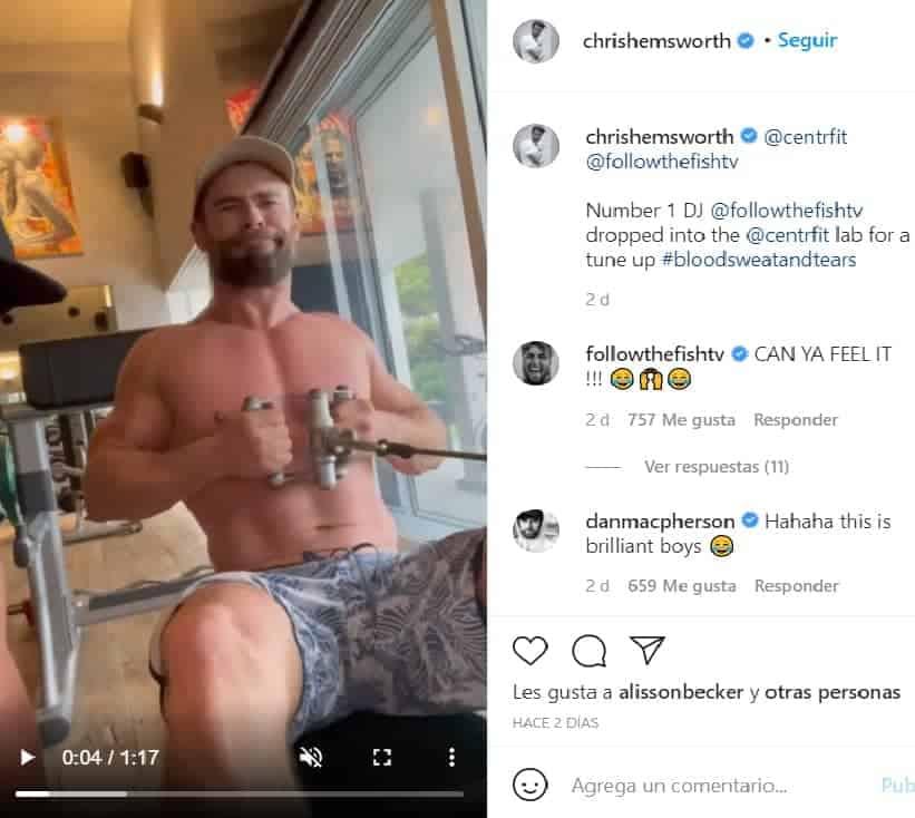 Chris Hemsworth protagonizaría Gladiador 2