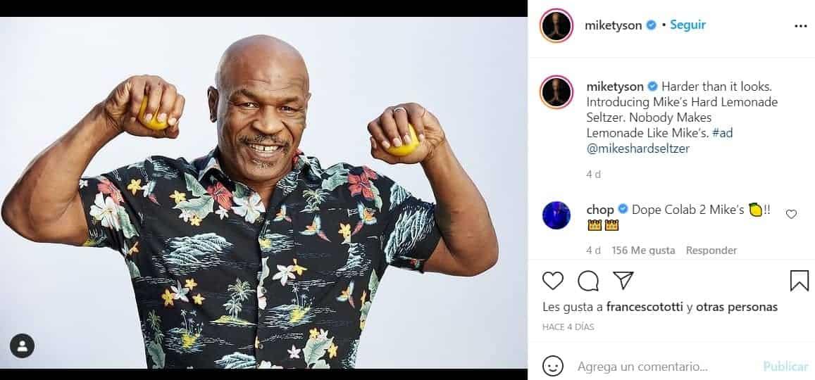 Mike Tyson estará al frente de la creación de la miniserie