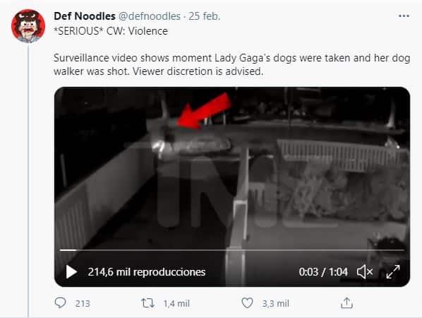 El portal de entretenimiento TMZ publicó el video del robo.