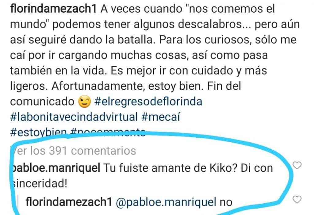¿Doña Florinda fue amante de Quico? Ella misma respondió/ @florindameza