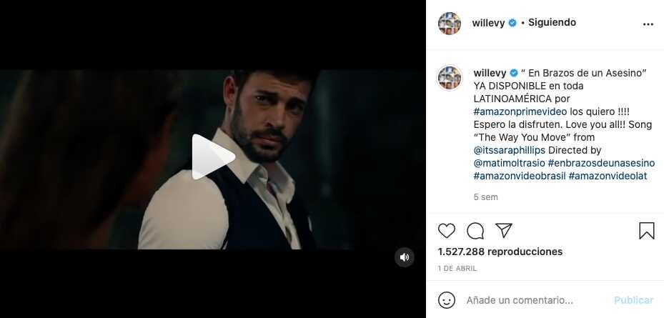 William Levy, el nuevo protagonista que enamora en 'Café, con aroma de mujer'