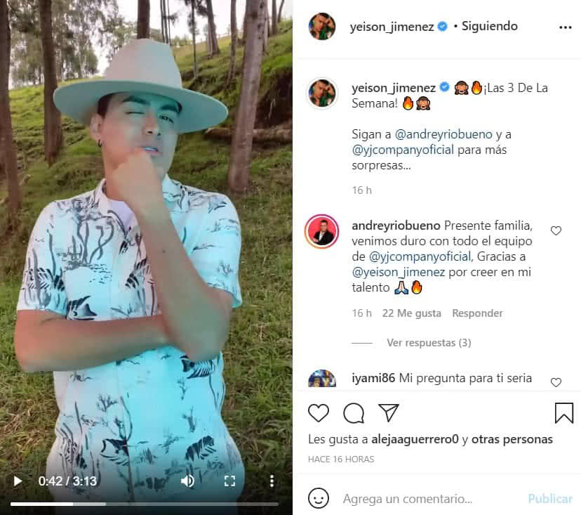 Yeison Jiménez respondió una íntima pregunta