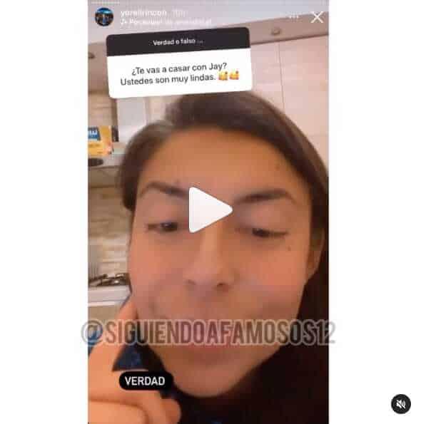 Yoreli Rincón revela que está próxima a casarse con Jay Oliveros