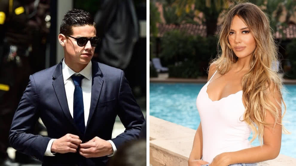 Shannon de Lima comparte video con James Rodriguez