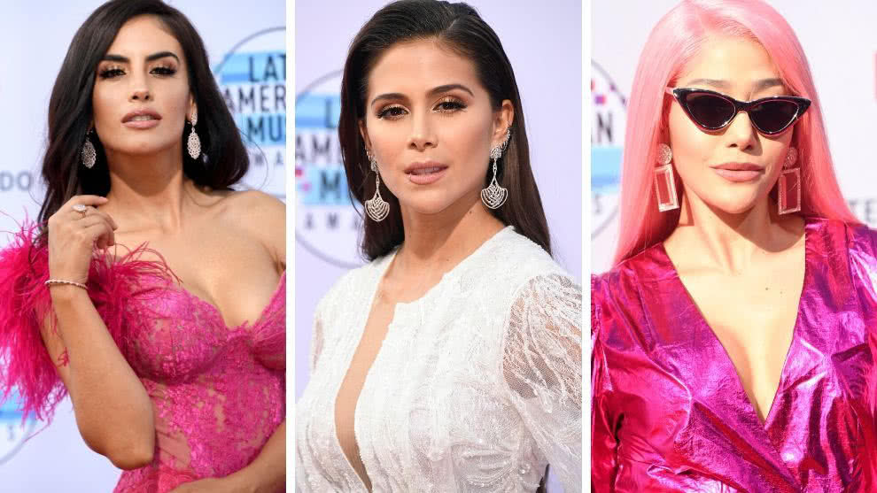 Jessica Cediel, Greeicy y Farina latin music awards 2019