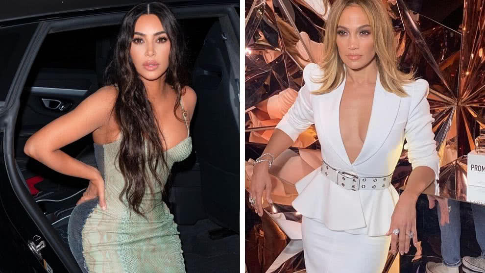 Kim Kardashian y jennifer lopez video sobre Facebook