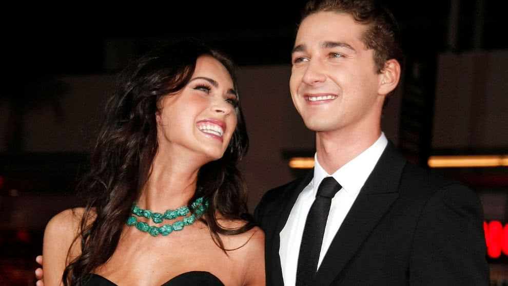 megan fox Shia Labeouf romance transformers