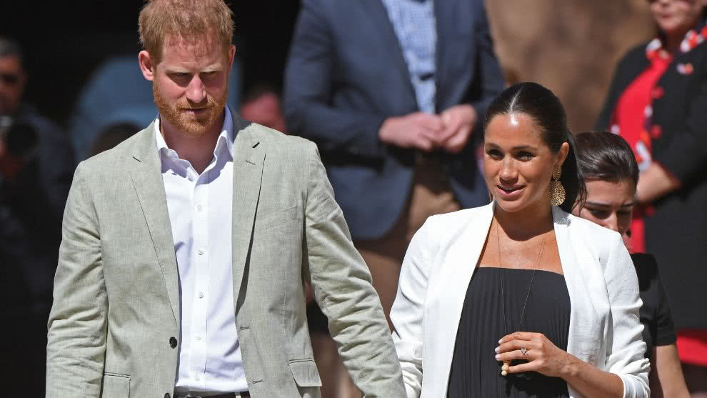 Meghan Markle y el principe Harry