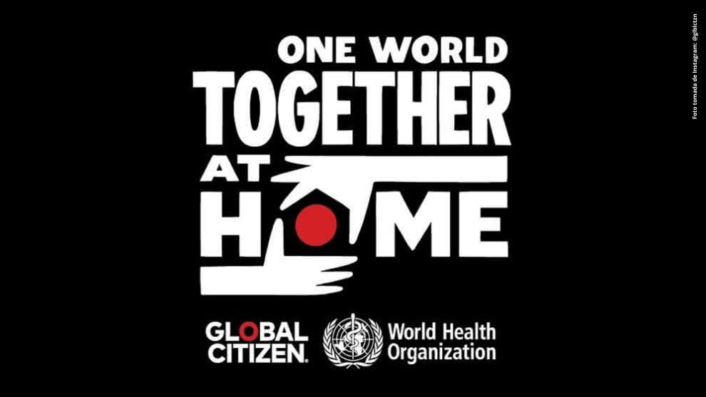 "El gigantesco concierto ""One World: Together At Home"" se verá en canalrcn.com"