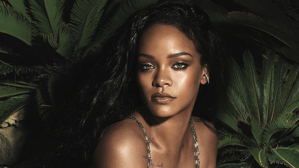 rihanna instagram, rihanna cantante, nina parecida a rihanna, fotos, doble, parecido, miniri, umbrella, video