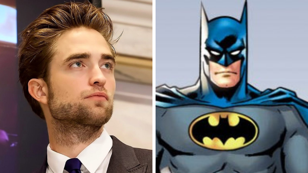 robert pattinson batman traje batman