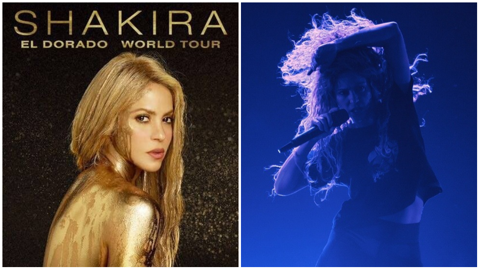Shakira regresa a Colombia con El Dorado World Tour