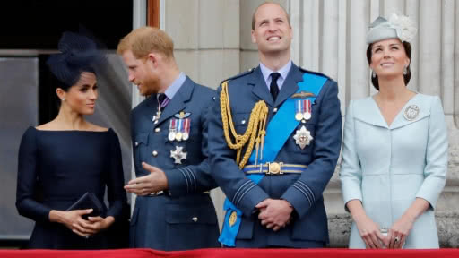 duques-sussex-duques-cambridge-principe-harry-guillermo-meghan-catalina-separacion-fundacion-afp