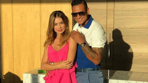 Fredy guarin y sara uribe video embarazo celebracion gol