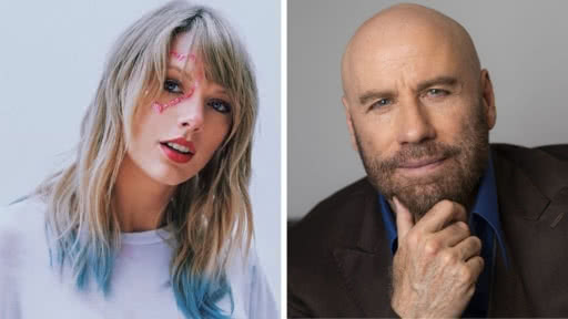 John Travolta confundio a Taylor Swift con drag queen