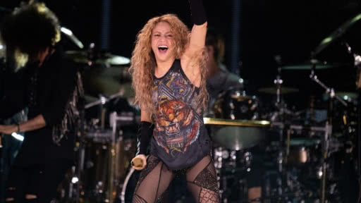 Shakira Dorado World Tour
