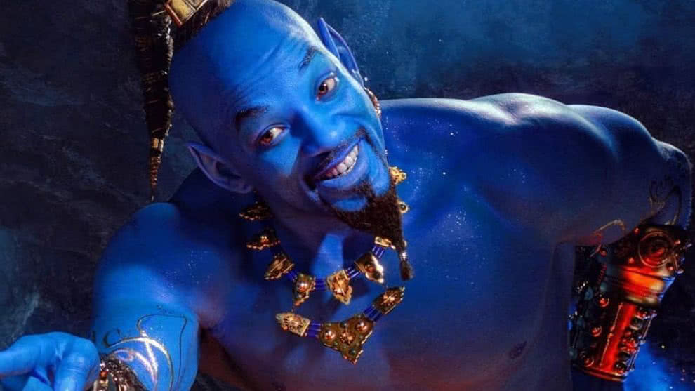 Will Smith Aladdin- Will Smith Genio de Aladdin- Nuevo Trailer de Aladdin- Pelicula de Disney Aladdin